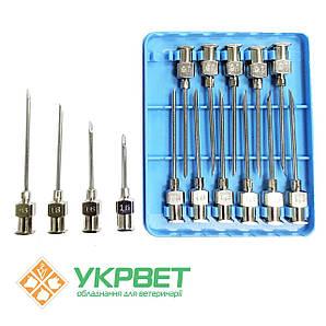 Игла ветеринарная инъекционная LL 1,6 мм (16 G)