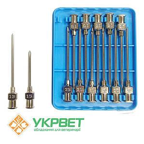 Игла ветеринарная инъекционная LL 1,8 мм (15 G)