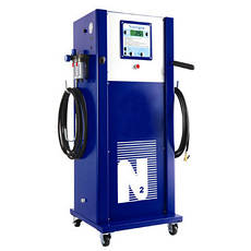 Установки для накачки шин азотом