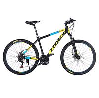 Горный велосипед Trinx MAJESTIC M116 ELITE Matt-Black-Grey-Red Колеса 27.5 Рама 21 (Сборка Тайвань)