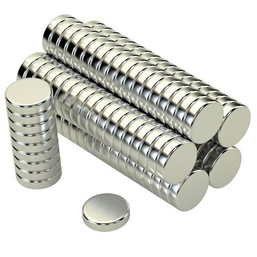 Магнит неодимовый 8x2мм N35 100 шт сильный 2003-05177