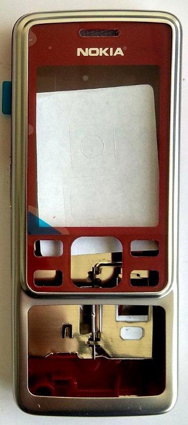 Корпус для Nokia 6300 Red