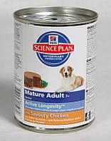 Hill's Canine Senior 7+ Курица консерва 370 гр.