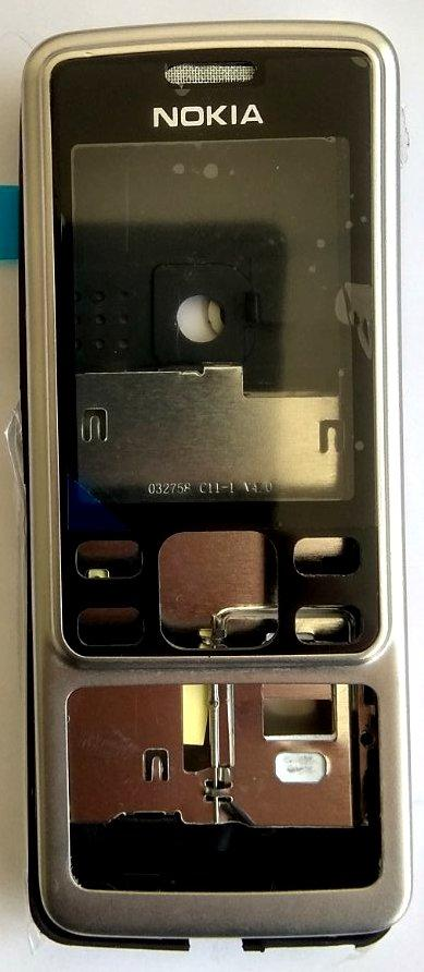Корпус для Nokia 6300 Silver