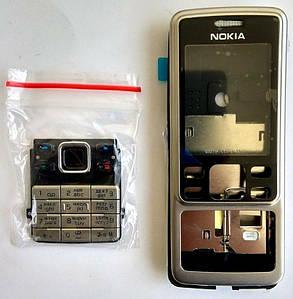 Корпус для Nokia 6300 Silver, фото 2