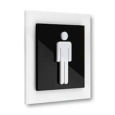 Табличка для туалету М