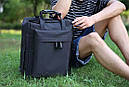 Рюкзак для ручной клади унисекс (черный), фото 3