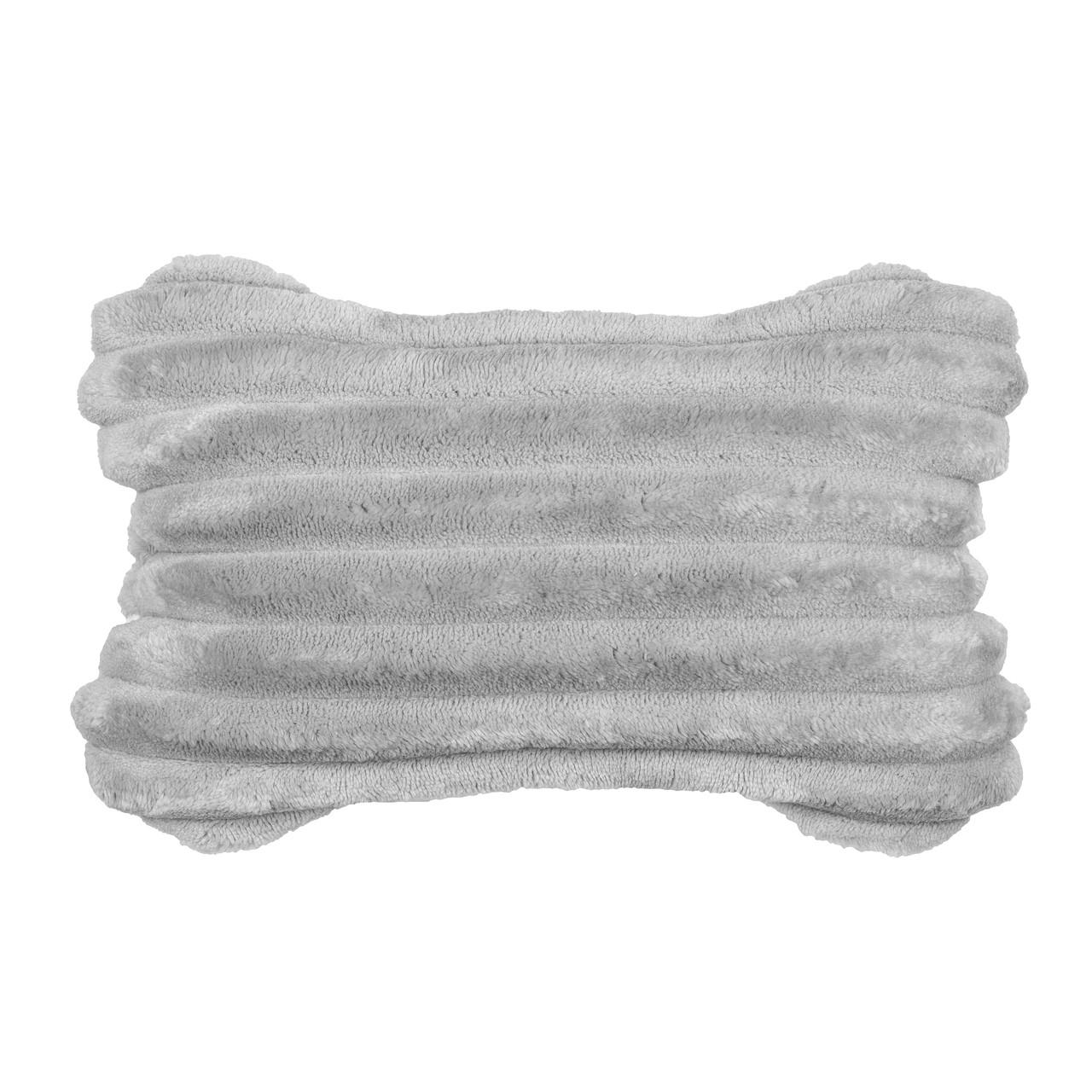 Подушка DRÖM Luxury косточка для автомобиля Серый (10401)
