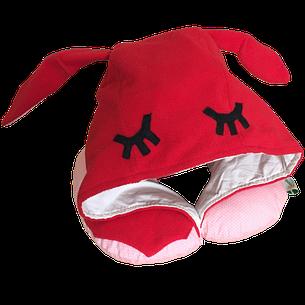 Подушка Organic Toys путешествий с капюшоном Красный (20201), фото 2
