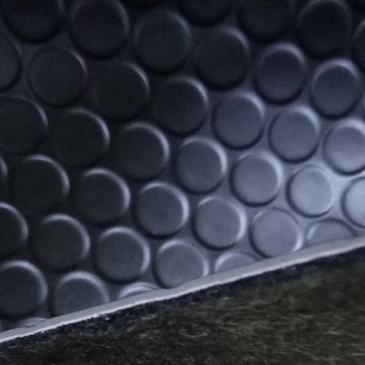 Линолеум Автолин Алекс 1 BL черный ширина 2 метра