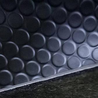 Линолеум Автолин Алекс 1 BL черный ширина 2 метра, фото 2