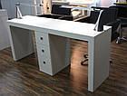 Маникюрный стол на два рабочих места Престиж, фото 2