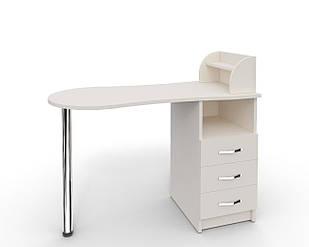 Маникюрный складной стол УкрЭстет №3 Белый