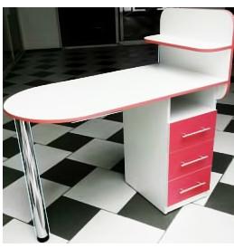 Маникюрный складной стол Овал