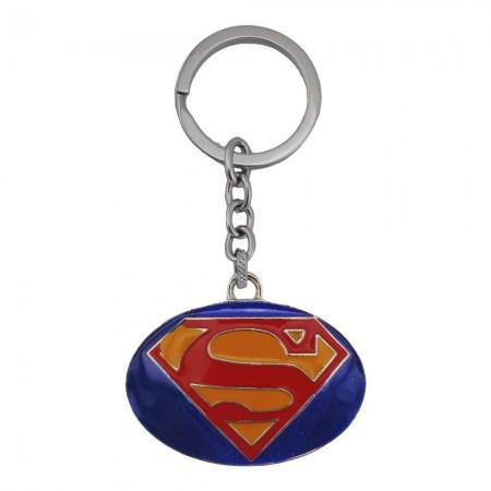 "Брелок ""Супермен"", металевий, супергерої, Брелок ""Знак супермена"""