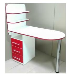 Маникюрный складной стол Овал-би