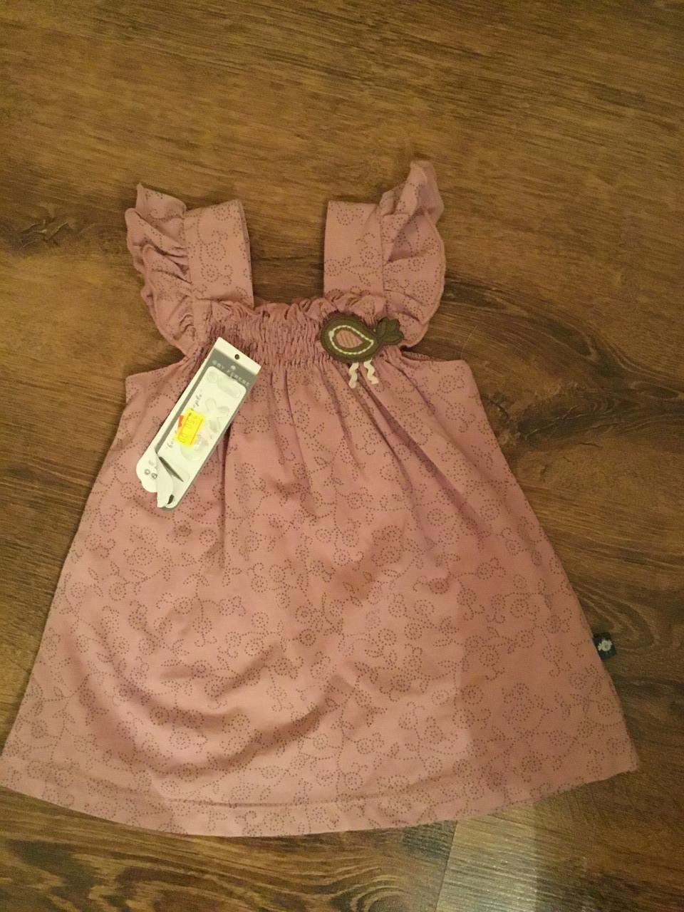 Стильное платье-сарафан для девочки