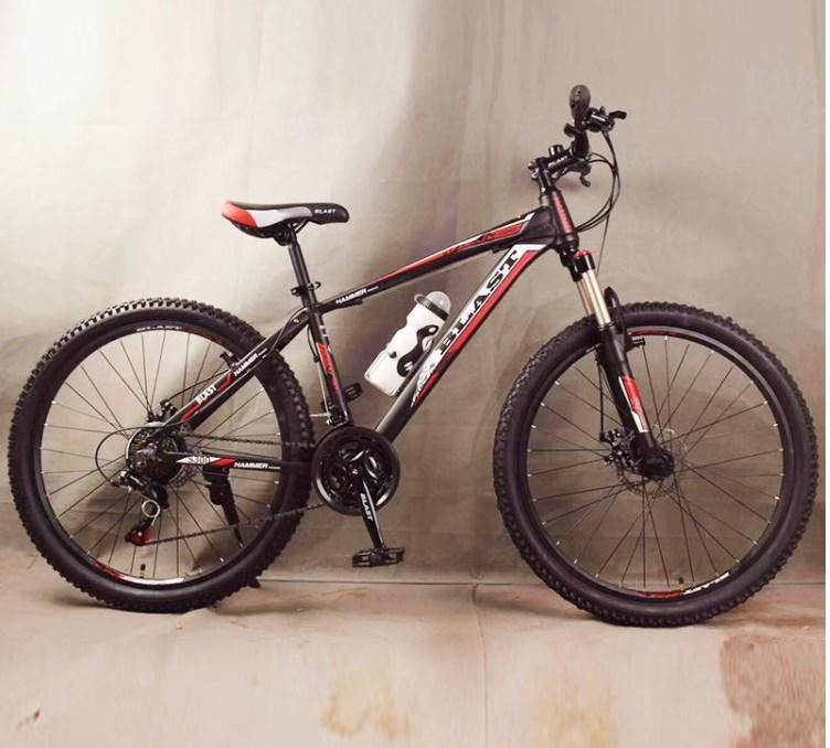 Подростковый велосипед колеса 26 дюймов S300 Blast-New Чёрно-Синий