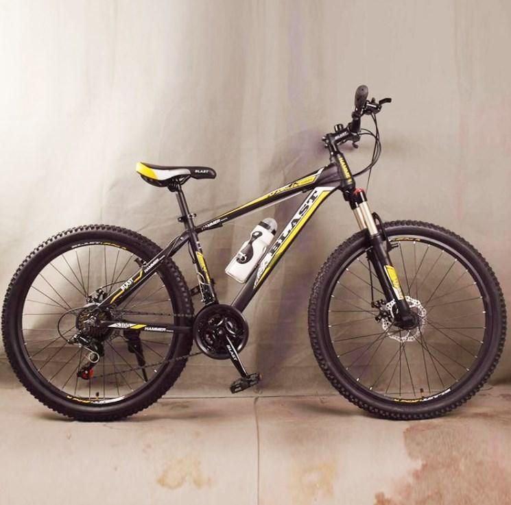 Подростковый велосипед колеса 26 дюймов S300 Blast-New Чёрно-Желтый