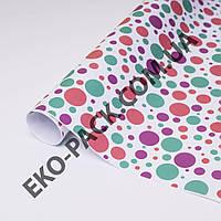 Ретро бумага разноцветные круги