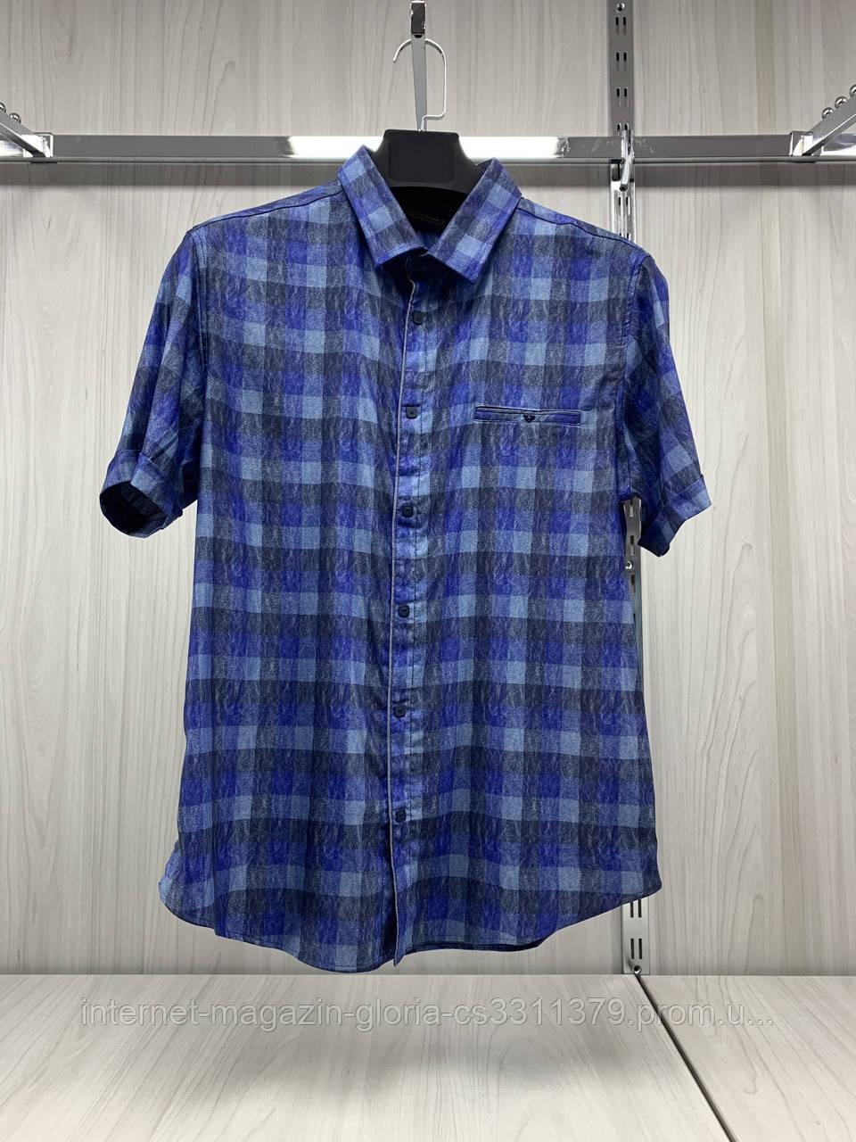 Мужская рубашка Amato. AG.KG19585-v01. Размеры: L,XL,XXL.