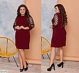 Стильное платье   (размеры 48-54) 0235-53, фото 2