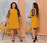 Стильное платье   (размеры 48-54) 0235-53, фото 3