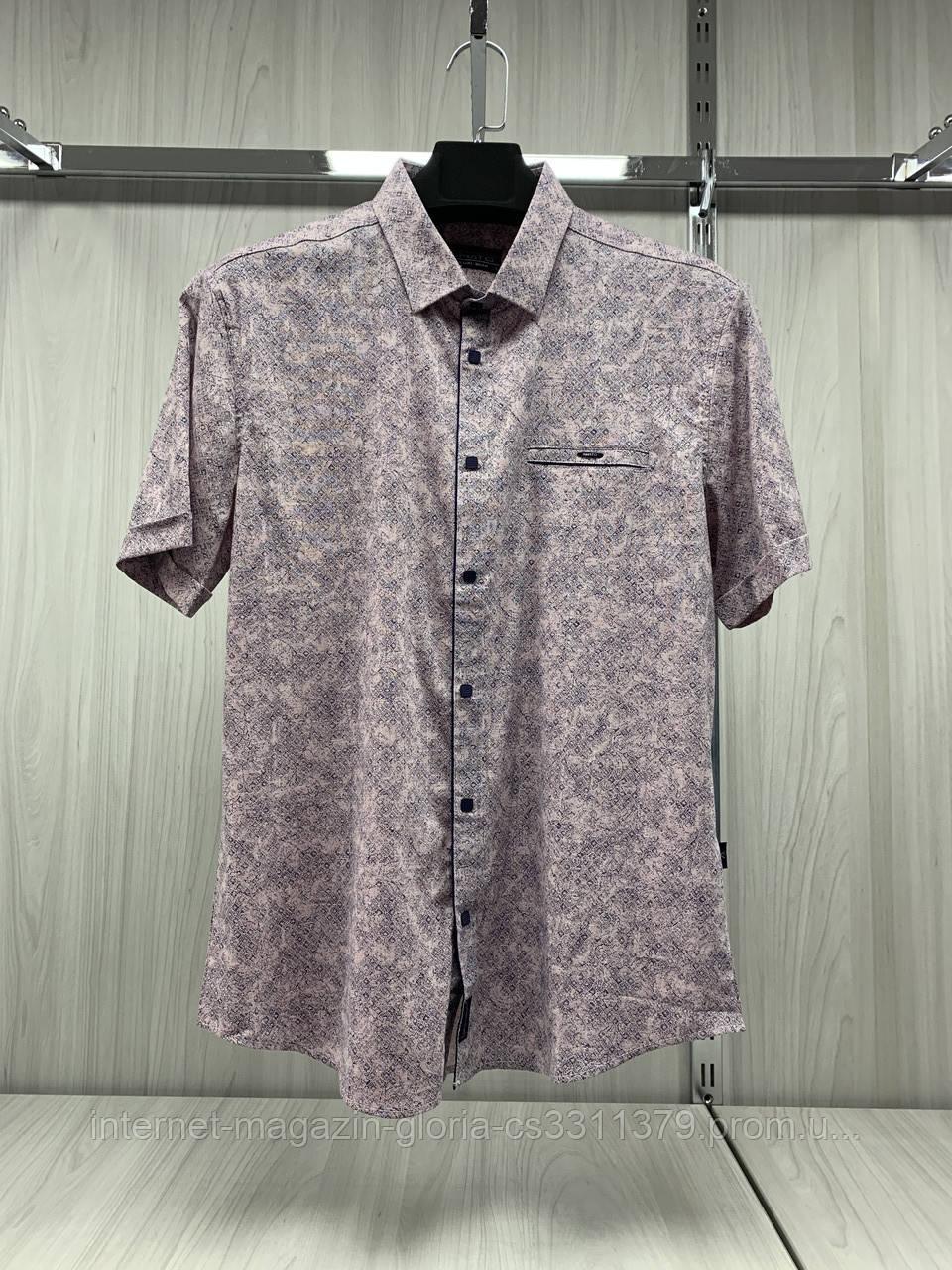 Мужская рубашка Amato. AG.KG19839-2-v06. Размеры: L,XL,XXL.