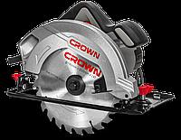 Пила ручна циркулярна CROWN CT15188-190