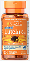 Здоров'я очей Puritan's Pride - Lutein 6 мг (100 капсул)