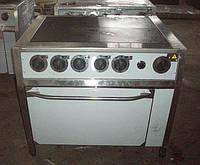 Плита электрическая 4-х конфорочная с духовкой ПЭ-4Д Профи АРТЕ-Н