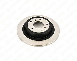 Тормозной диск задний 290mm. на Renault Kadjar 2015-> — Renault (Оригинал) - 432068231R