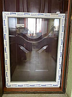 Окно из 3-хкамерного профиля WDS Trio 810x1040 мм