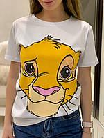 Бавовняна футболка з героєм улюбленого мультфільму / футболочка с героем любимого мультфильма