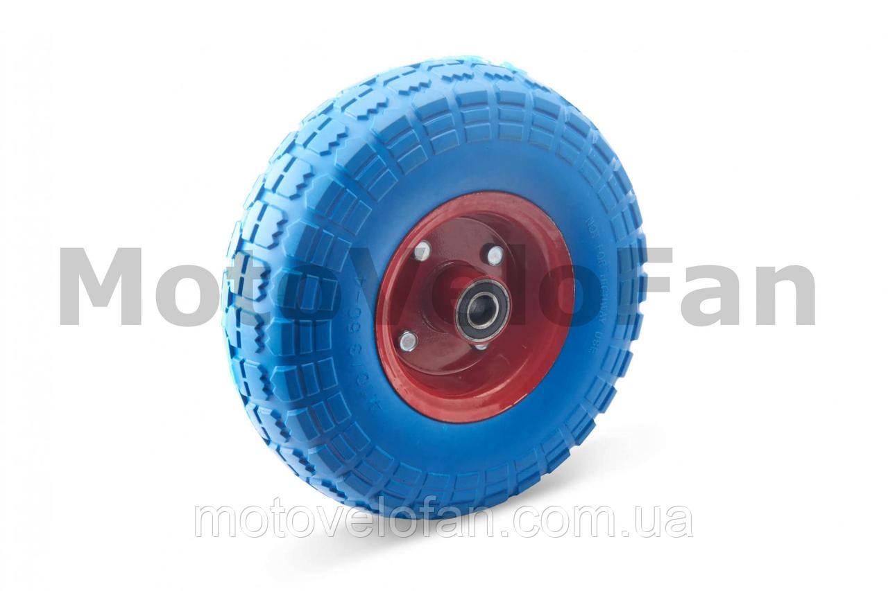 Колесо   4,10/3,50 -4   TL   (бескамерное, под ось d-16мм )   (синее)   MRHD