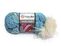 YarnArt Nancy Baby, Бирюза №338