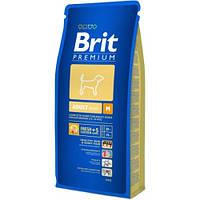 Сухой корм для собак Brit Premium Adult M 15 кг