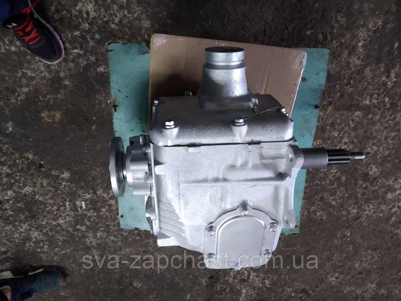 КПП ГАЗ 53 3307 с круглым фланцем 3307-1700010-01
