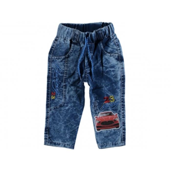Джинсы для мальчика Турция 2-6 лет синий 293672