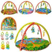 Коврик для малышей 604-4-5-6-7-8B разм.коврика 76*76см в сумке 62*54*5см