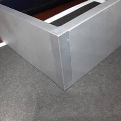 Заглушка для алюминиевого плинтуса 60мм