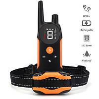 Электронный ошейник для дрессировки собак 600м TZ912 - тренировочный ошейник для собак дистанционный с шокером
