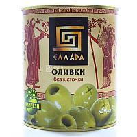 Оливки зеленые без косточки 850г Ellada Colossal ж / б (1/12)
