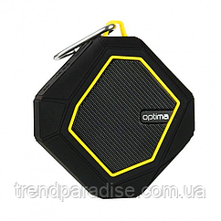 Портативная Bluetooth колонка Optima MK-5 Predator Yellow (25423)
