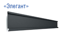 """Фасадные панели """"Элегант"""" 0,5 мм RAL 8017 PE Модуль Украина (глянец) от завода """"Термастил"""""""