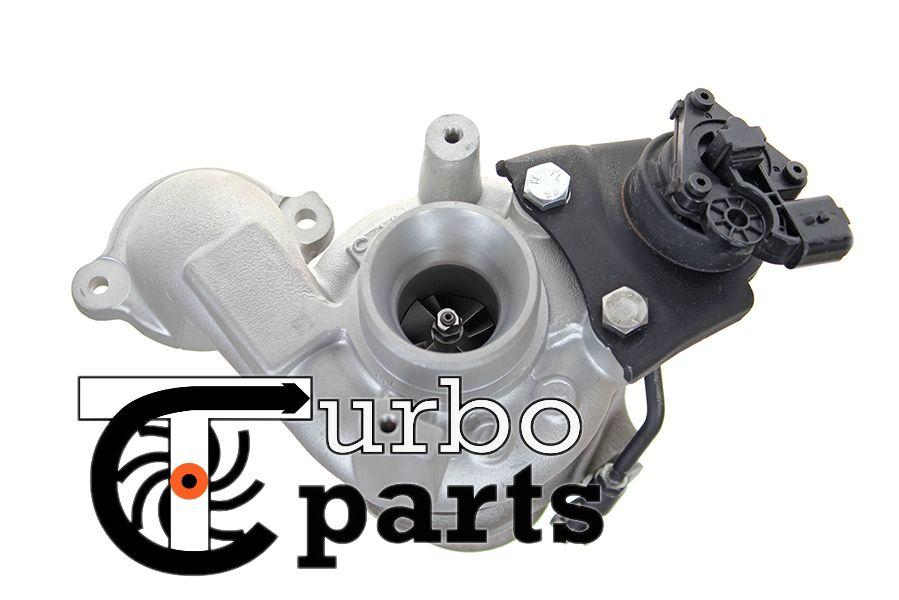 Оригинальная турбина Ford Fiesta 1.6 TDCi от 2010 г.в. - 49373-02013, 49373-02003, 49373-02002