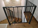 """Перила, ограждения для лестницы, террасы в современном стиле """"Лофт"""", фото 4"""
