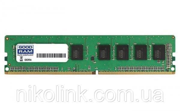 Память GOODRAM DDR4 4GB PC4-19200 (2400MHz) (GR2400D464L17S/4G) - Б/У