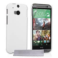 Чехол силиконовый для HTC One 2 M8 белый