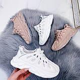 Жіночі білі кросівки текстиль, фото 8